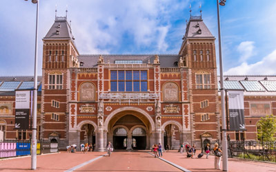 The National Museum of the Netherlands - The Rijksmuseum in Amsterdam