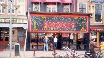 Coffeeshop Smokey in Amsterdam's Rembrandtplein