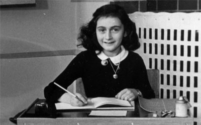 Anne Frank school photo