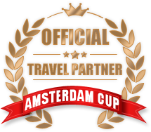Official Travel Partner of the Amsterdam Cup!