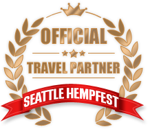 Official travel partner for Seattle Hempfest!