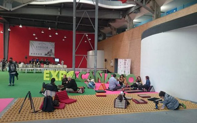 Expocanamo chill out zone