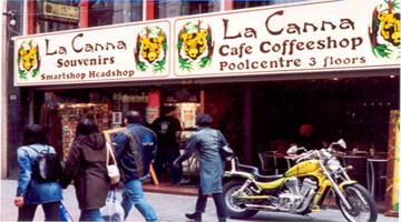 Coffeeshop La Canna in Amsterdam